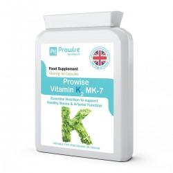 Vitamina K2MK-7, 100mcg, 60 capsule