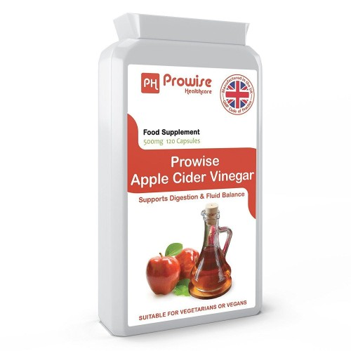 Capsule Otet de Mere Extract 500 mg, 120 capsule - Apple Cider Vinegar