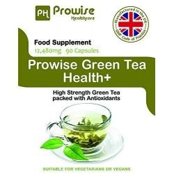 Ceai Verde de 12,480 mg, 90 capsule