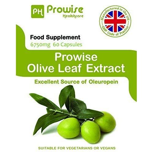 Extract din Frunze de măslin de 6750mg, 60capsule (20% Oleuropein)