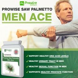 Supliment Nutritiv Saw Palmetto pentru bărbați de 2500mg, 90 capsule