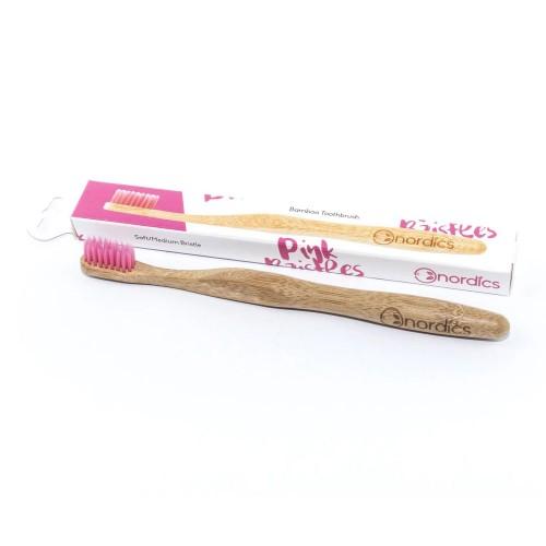 Periuță de dinți pentru adulți din bambus