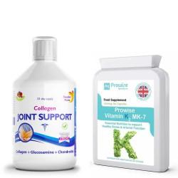 Colagen Lichid - articulații sănătoase + Vitamina K2MK-7